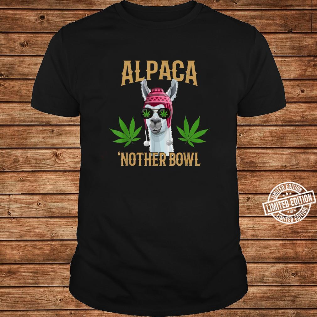 Alpaca 'Nother Bowl, Marijuana Shirt long sleeved