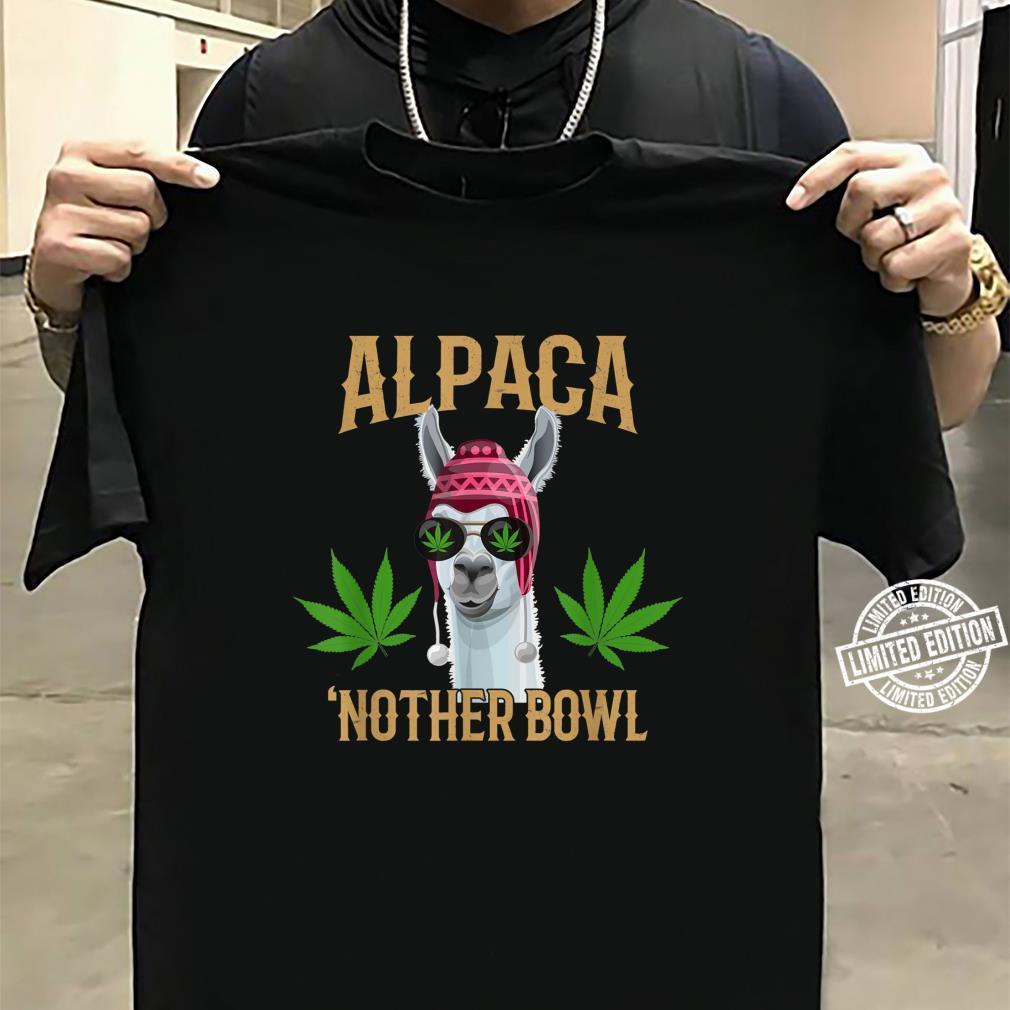 Alpaca 'Nother Bowl, Marijuana Shirt sweater