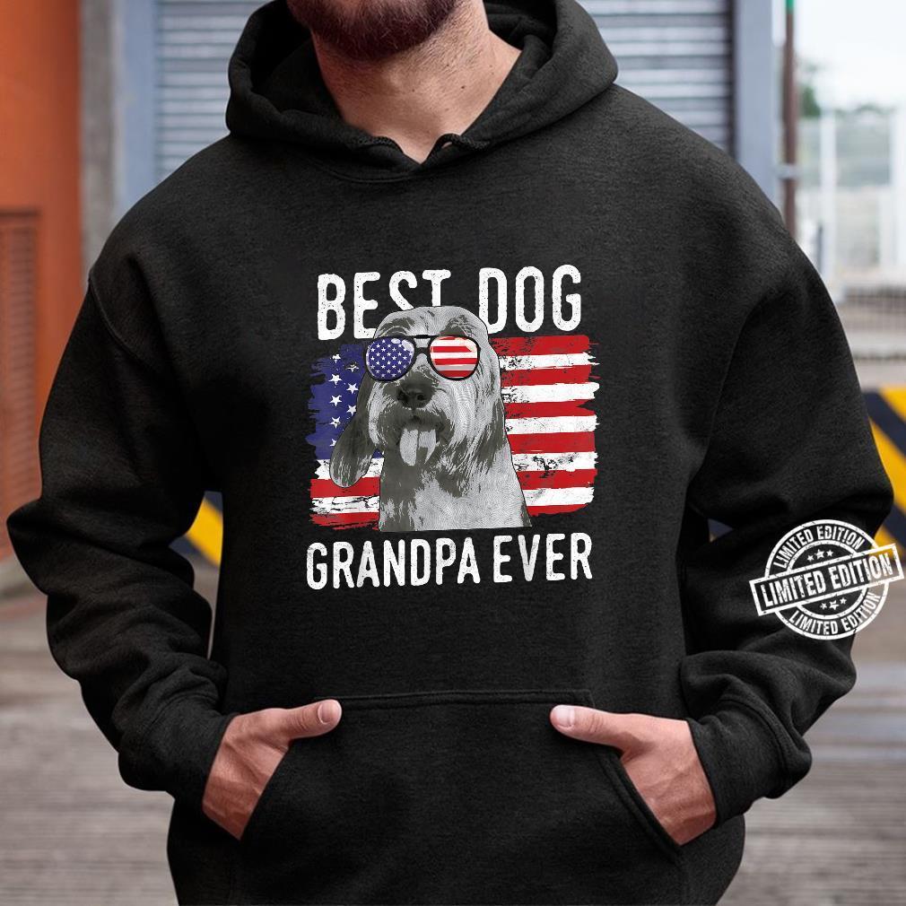 American Flag Best Dog Grandpa Ever Bassets Griffons Vendeen Shirt hoodie