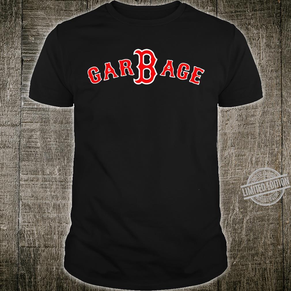 Boston Red Sox GarBage Racerback Shirt