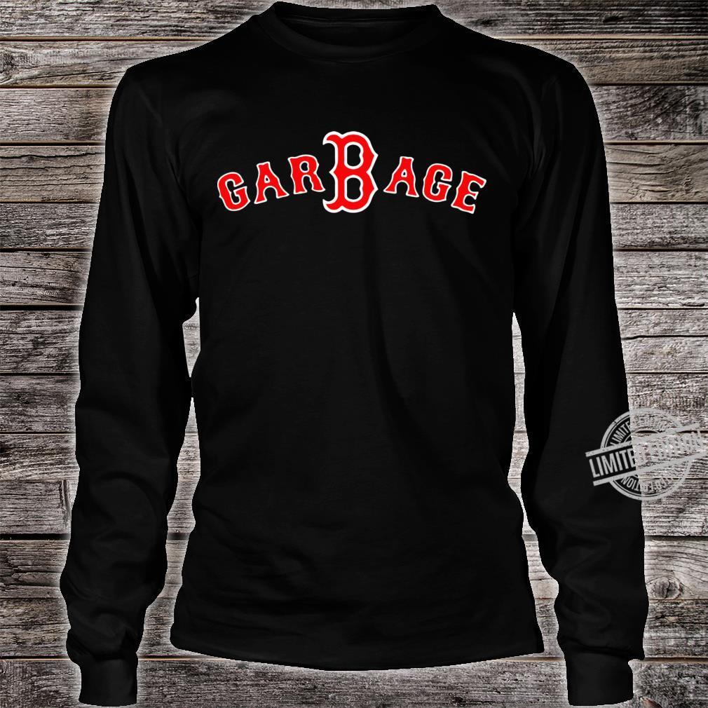 Boston Red Sox GarBage Racerback Shirt long sleeved