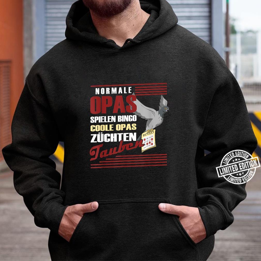 Brieftaube Taubenflüsterer Ruhestand Taubenzüchter Haustaube Shirt hoodie