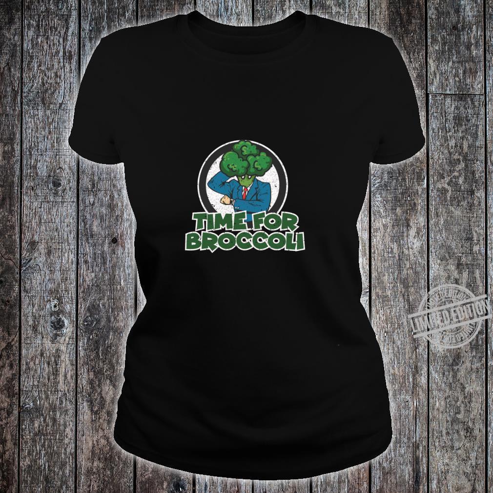 Brocolli Plant Food Vegetable Eater Shirt ladies tee
