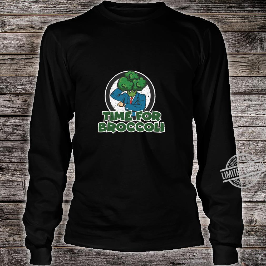 Brocolli Plant Food Vegetable Eater Shirt long sleeved