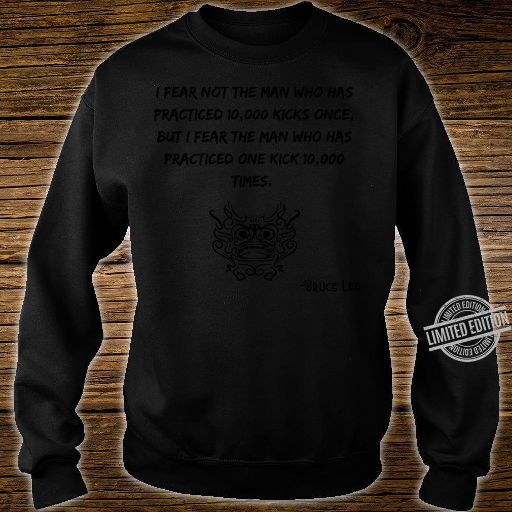 Bruce Lee Quotes Crewneck Shirt sweater