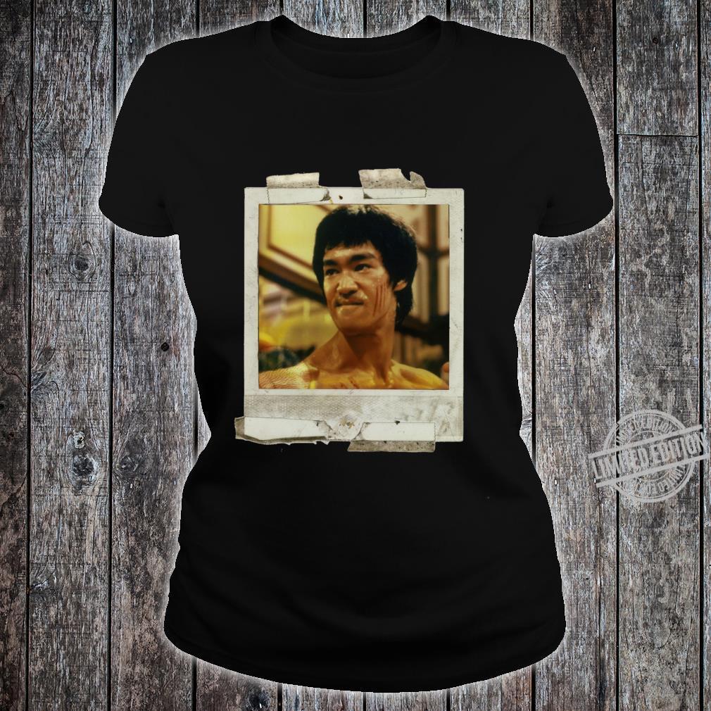Bruce lee pop art Shirt ladies tee