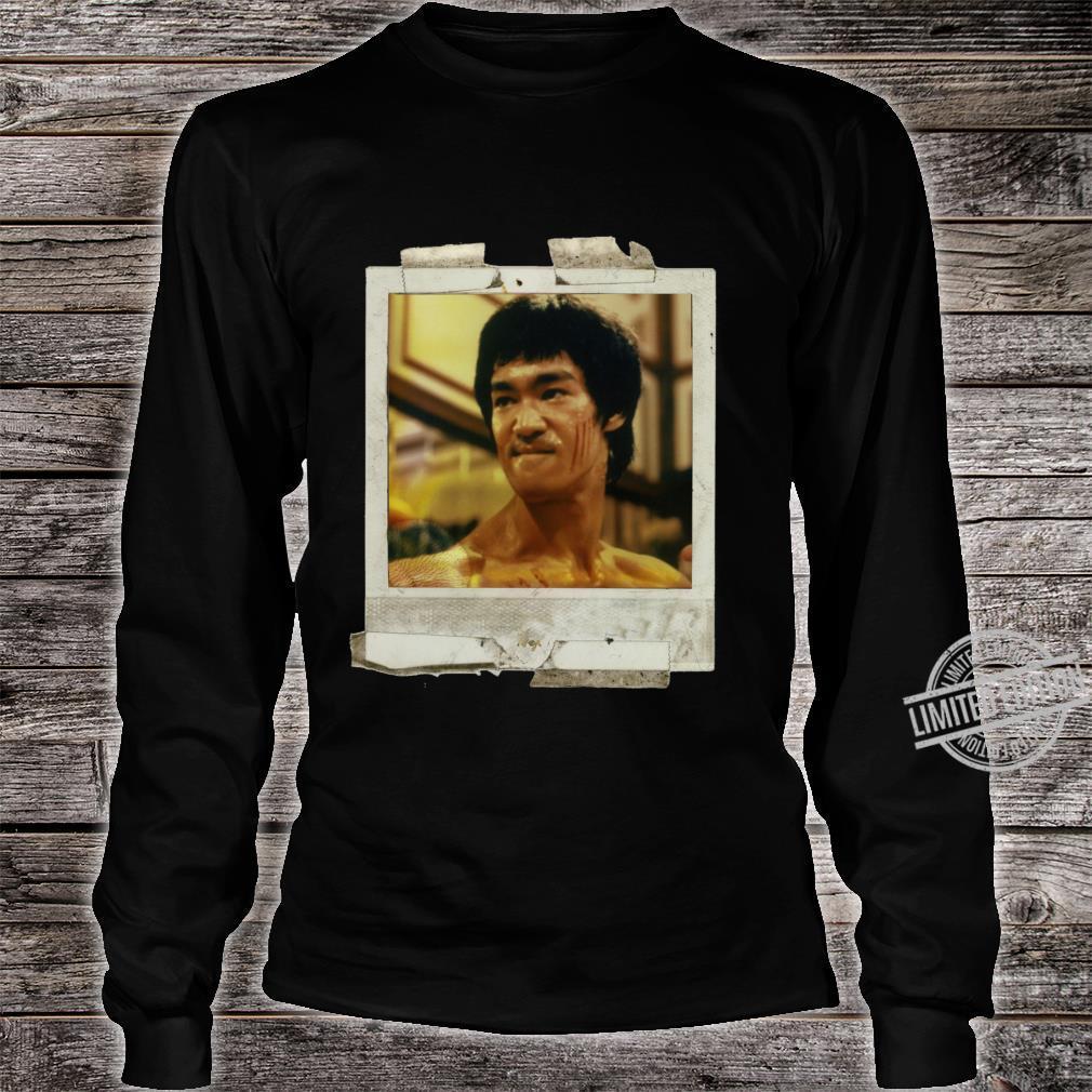 Bruce lee pop art Shirt long sleeved