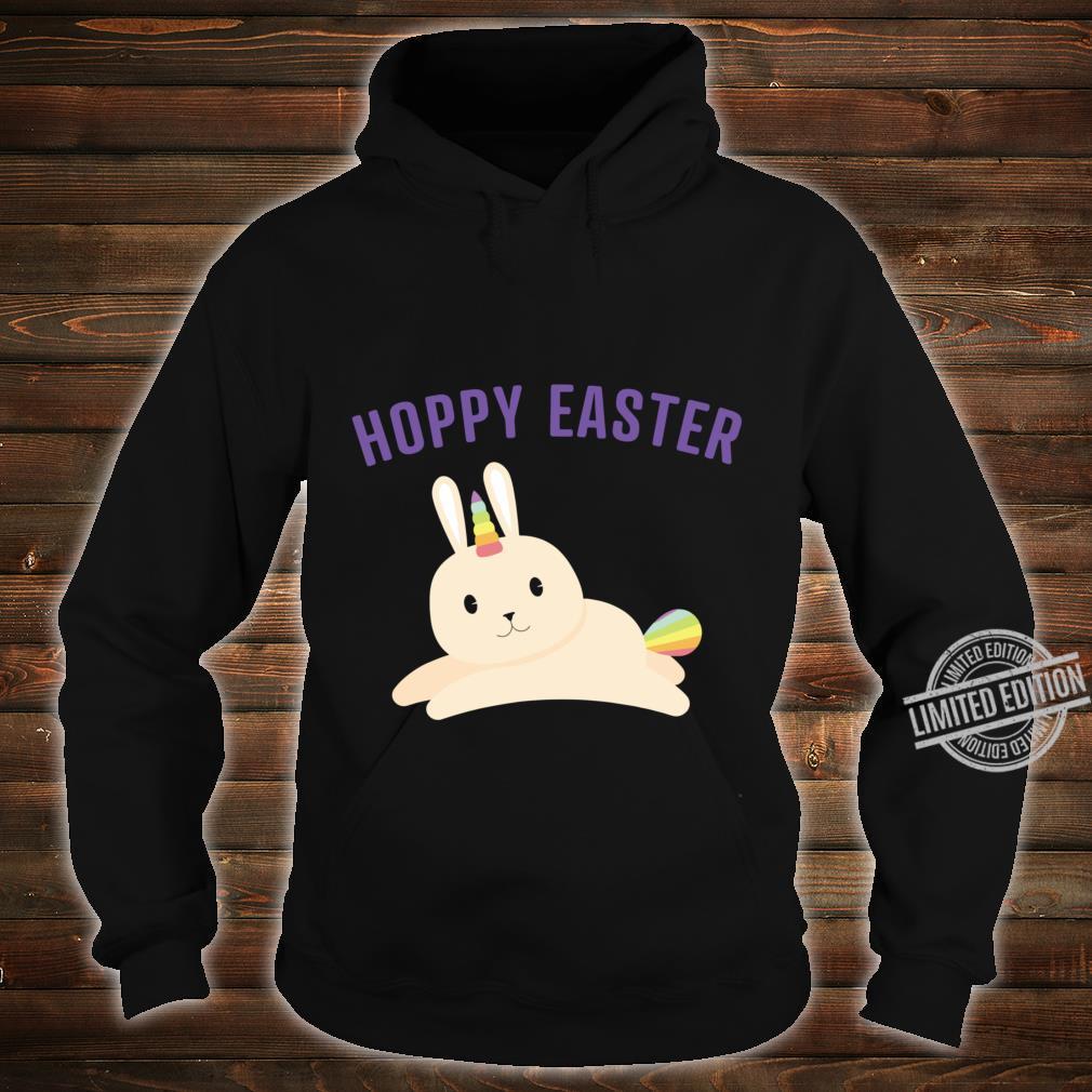Bunnicorn For Rainbow Unicorn Bunny Easter Shirt hoodie