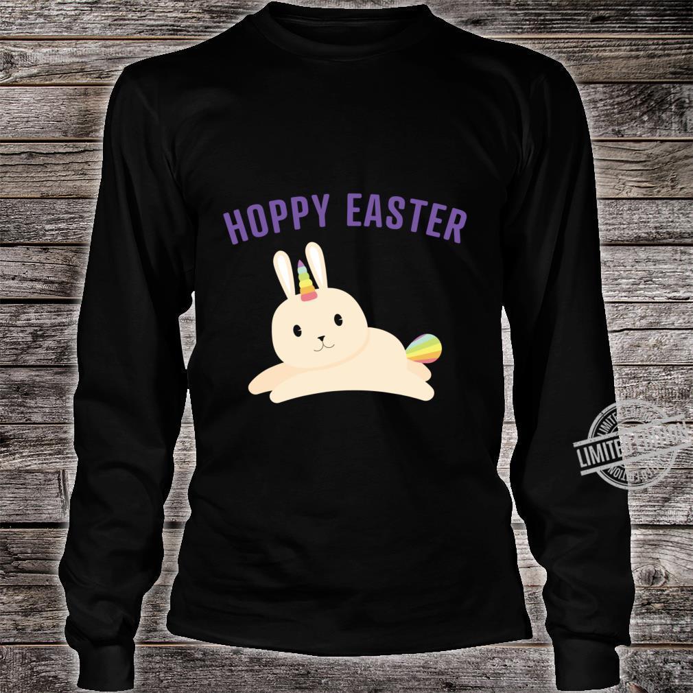 Bunnicorn For Rainbow Unicorn Bunny Easter Shirt long sleeved