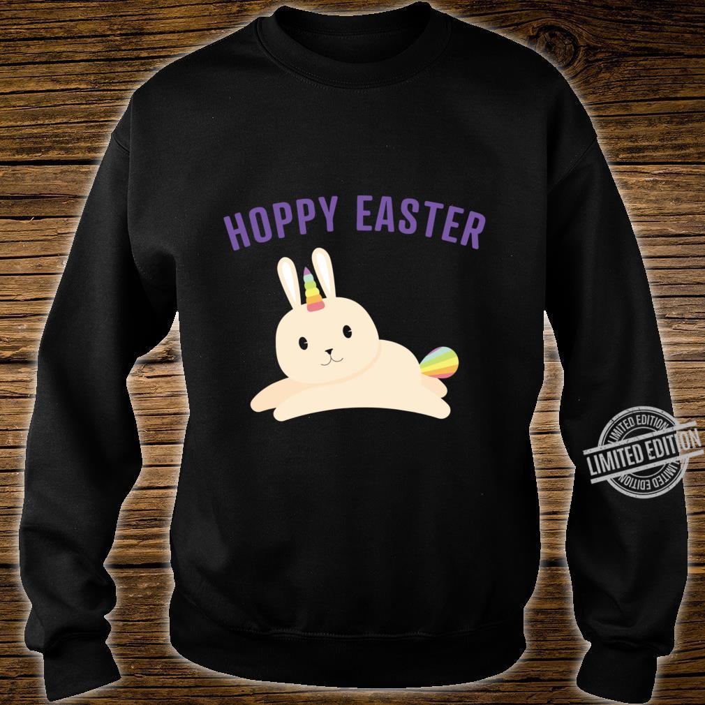 Bunnicorn For Rainbow Unicorn Bunny Easter Shirt sweater