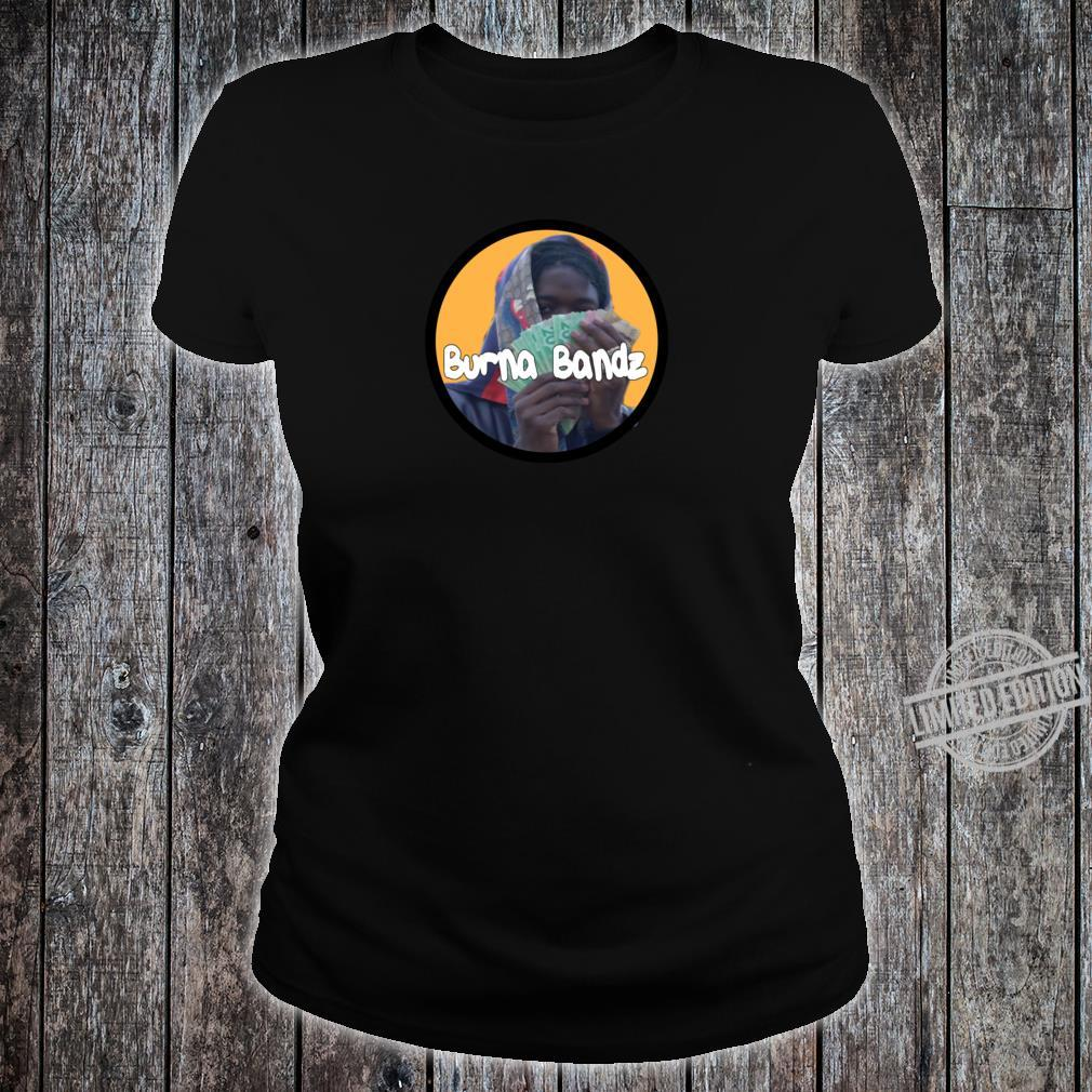 Burna Bandz Racerback Shirt ladies tee