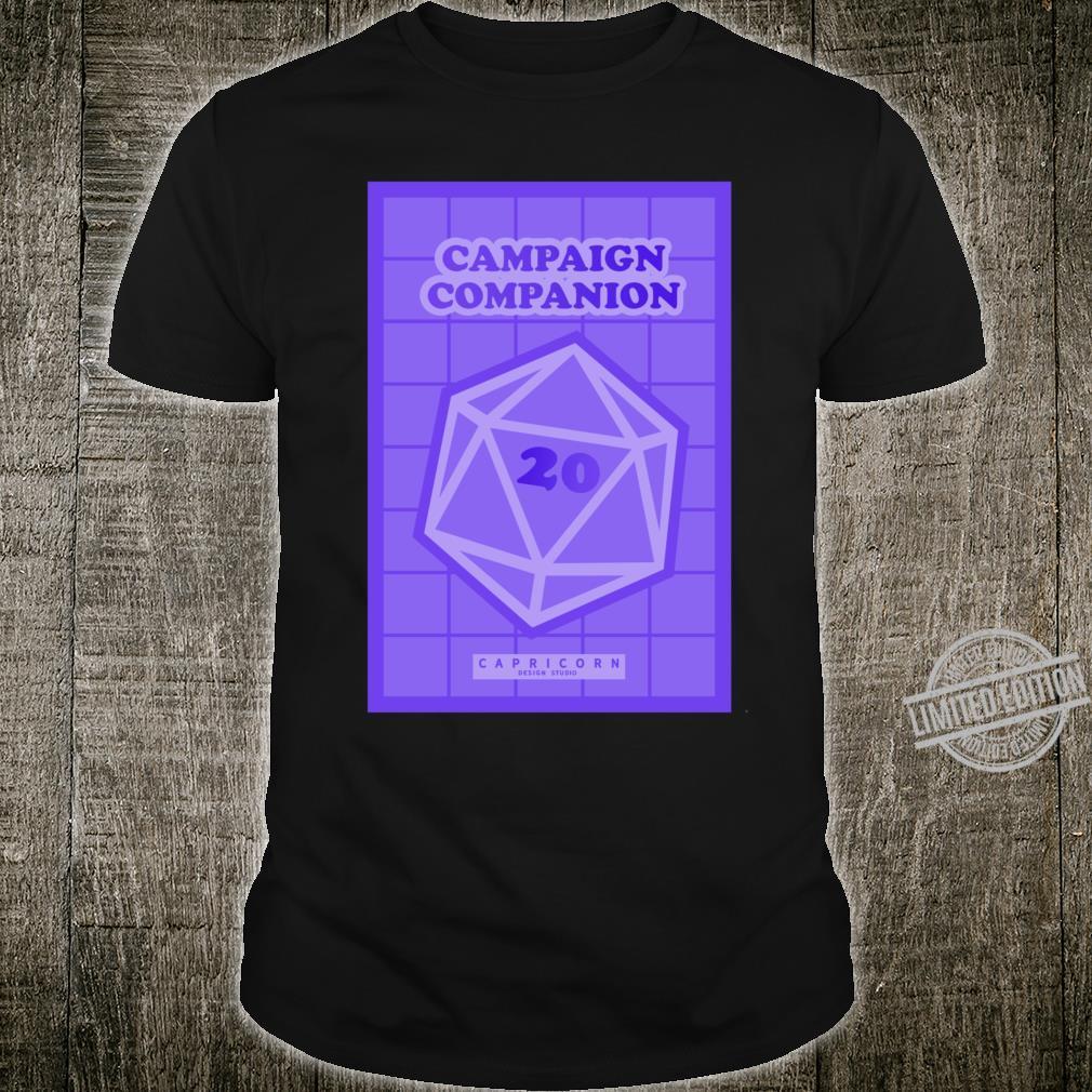 Campaign Companion RPG Lightweight Shirt