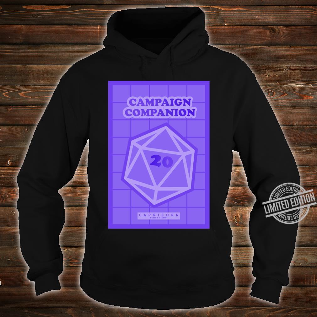 Campaign Companion RPG Lightweight Shirt hoodie