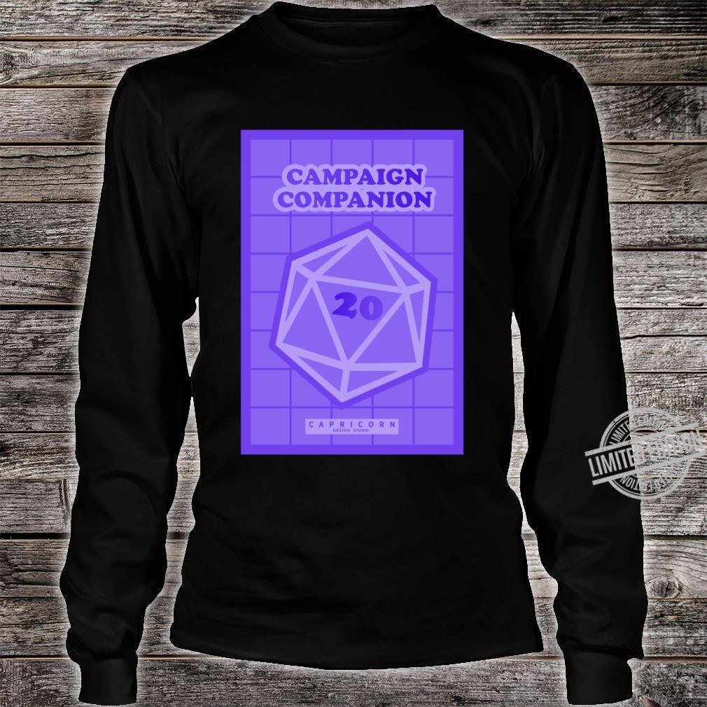 Campaign Companion RPG Lightweight Shirt long sleeved