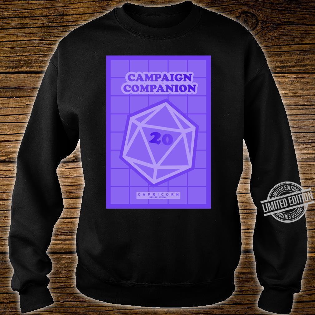 Campaign Companion RPG Lightweight Shirt sweater