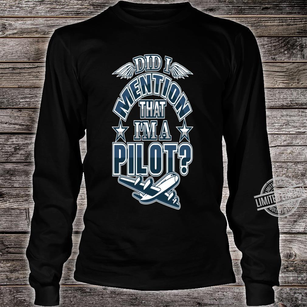 Career Goals Shirt long sleeved