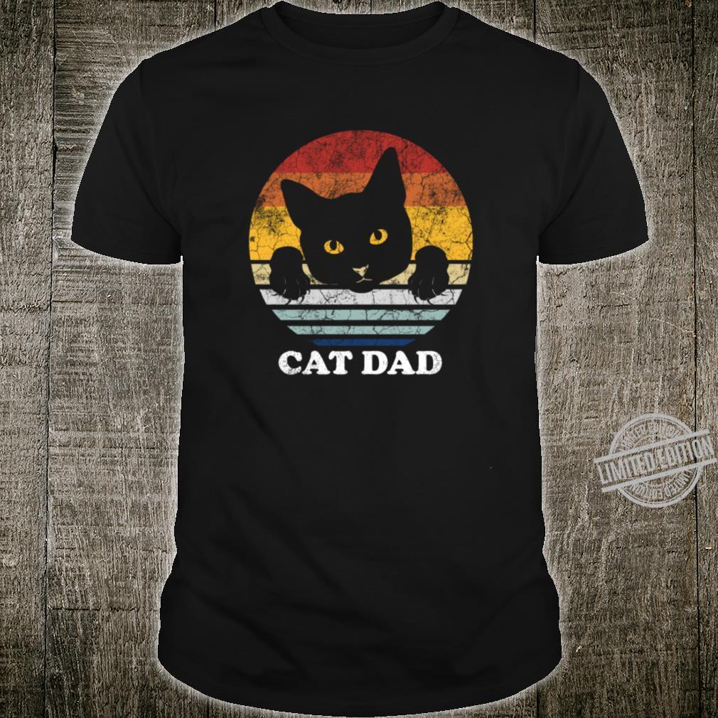 Cat Dad Matching Couple Outfit Cat Idea Shirt