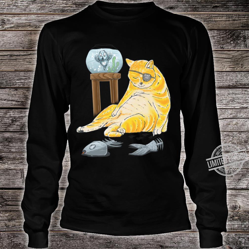 Catshirt Shirt long sleeved