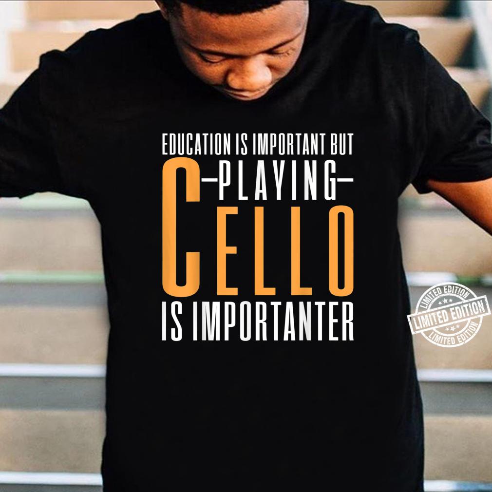 Cello Cellist Shirt