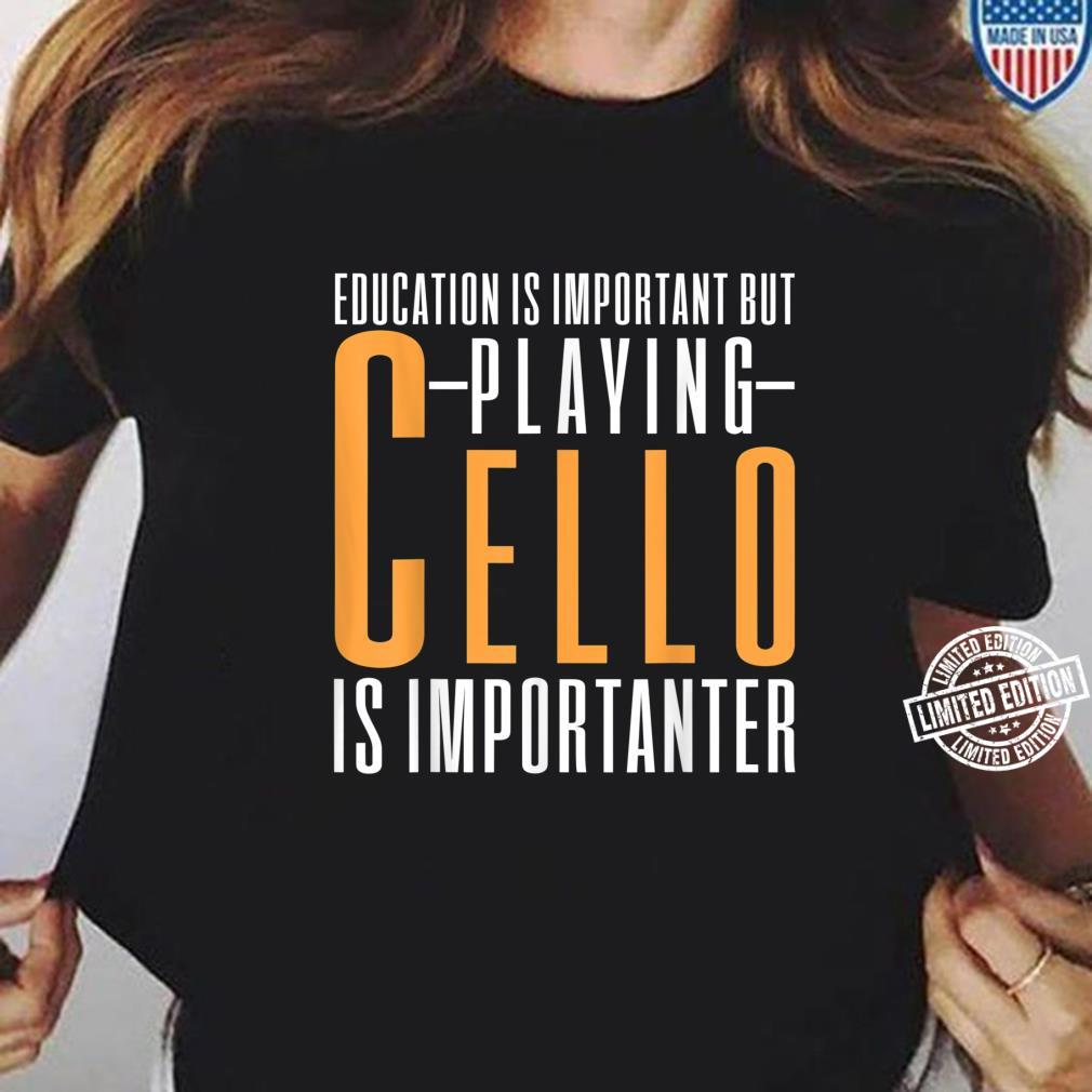 Cello Cellist Shirt ladies tee