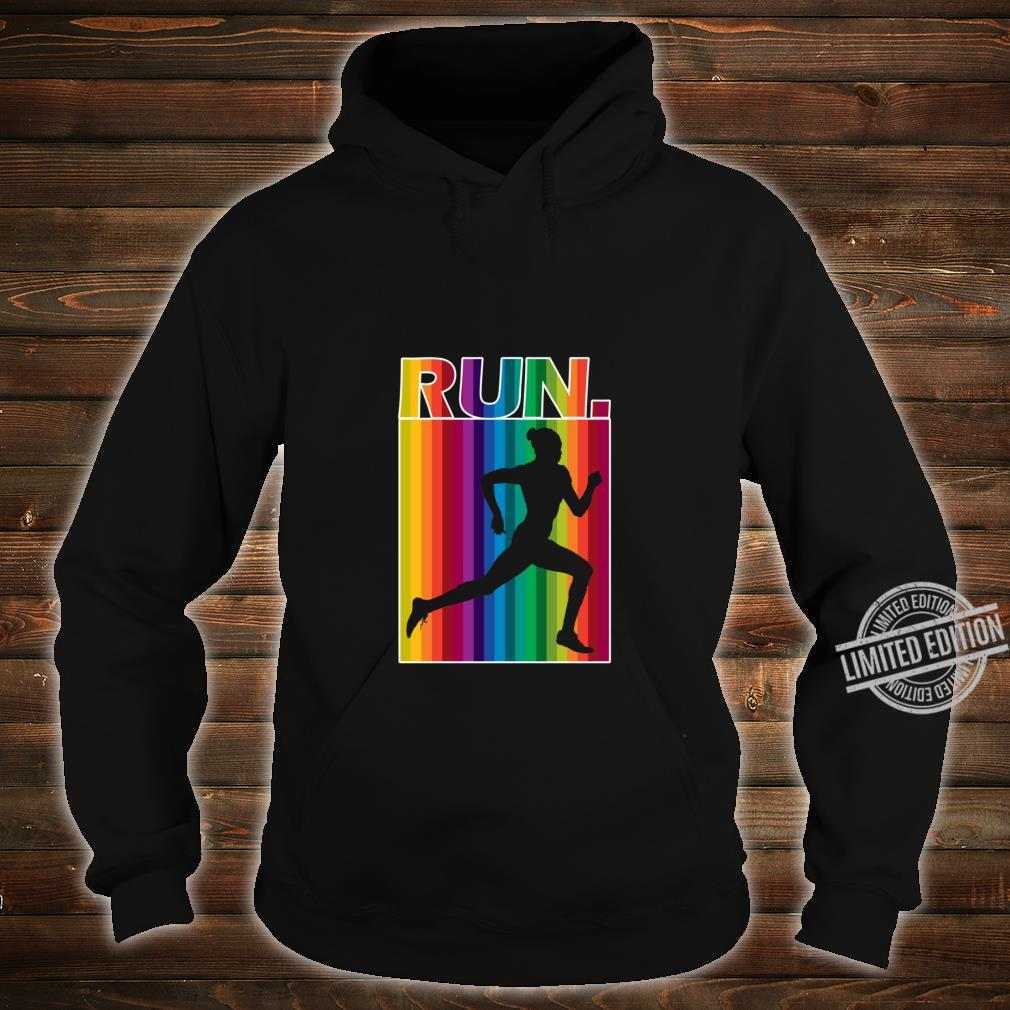 Copy of Sunset Runner Racerback Shirt hoodie