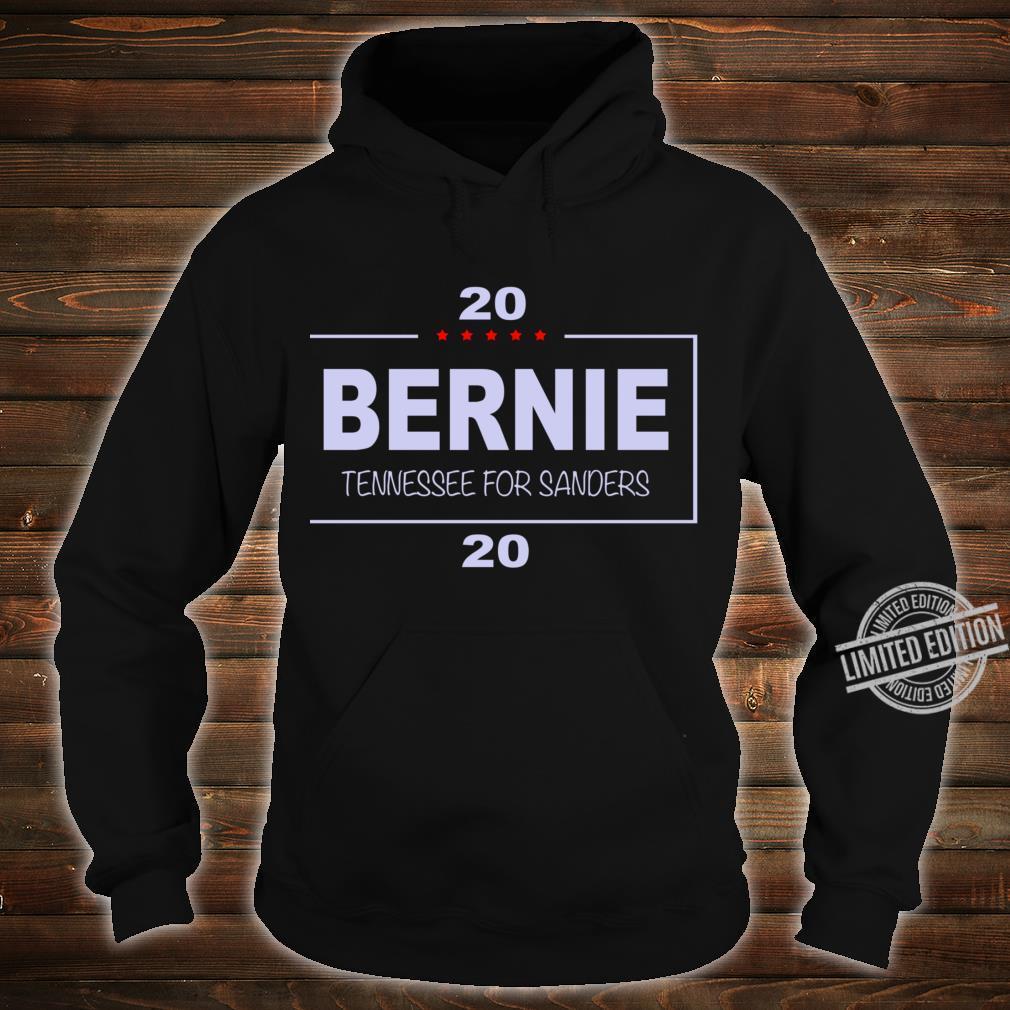 Copy of Vote Bernie, Tennessee for Sanders Racerback Shirt hoodie
