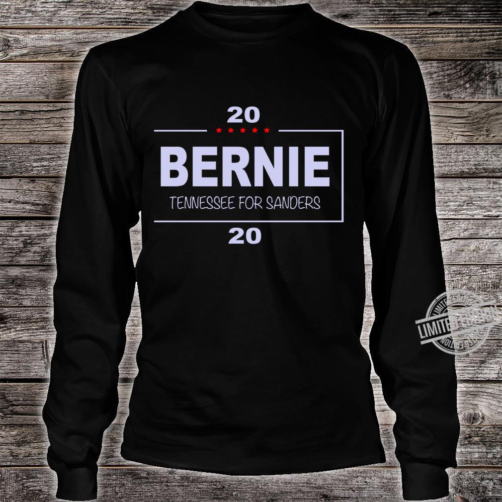 Copy of Vote Bernie, Tennessee for Sanders Racerback Shirt long sleeved