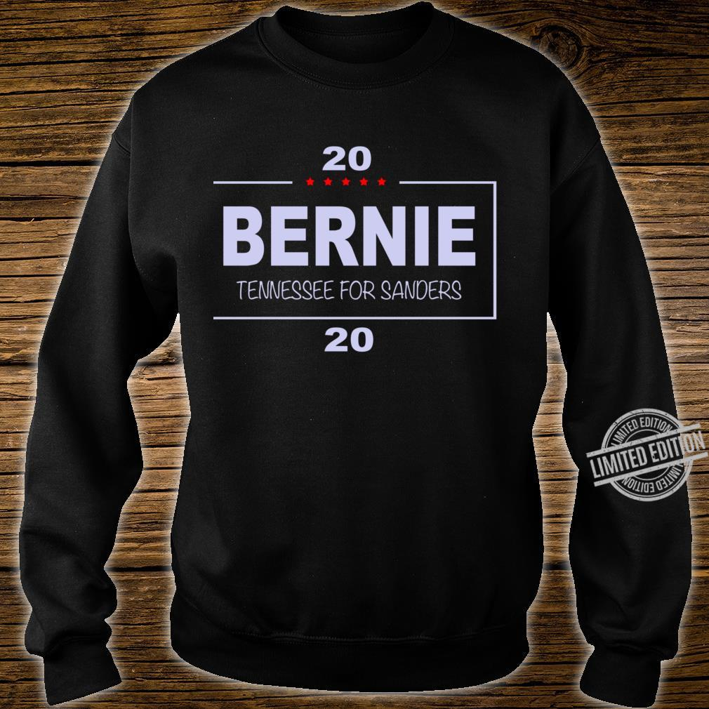 Copy of Vote Bernie, Tennessee for Sanders Racerback Shirt sweater