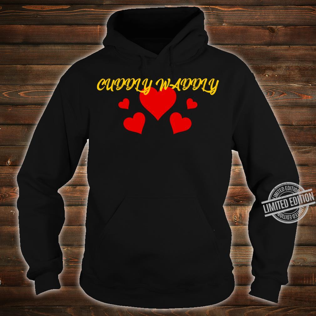 Cuddly Shirt hoodie