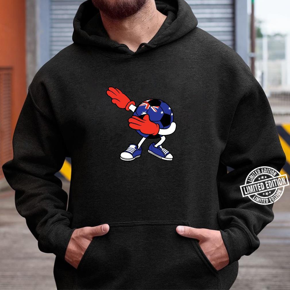 Dabbing Soccer Ball Australia Jersey Aussie Football Shirt hoodie