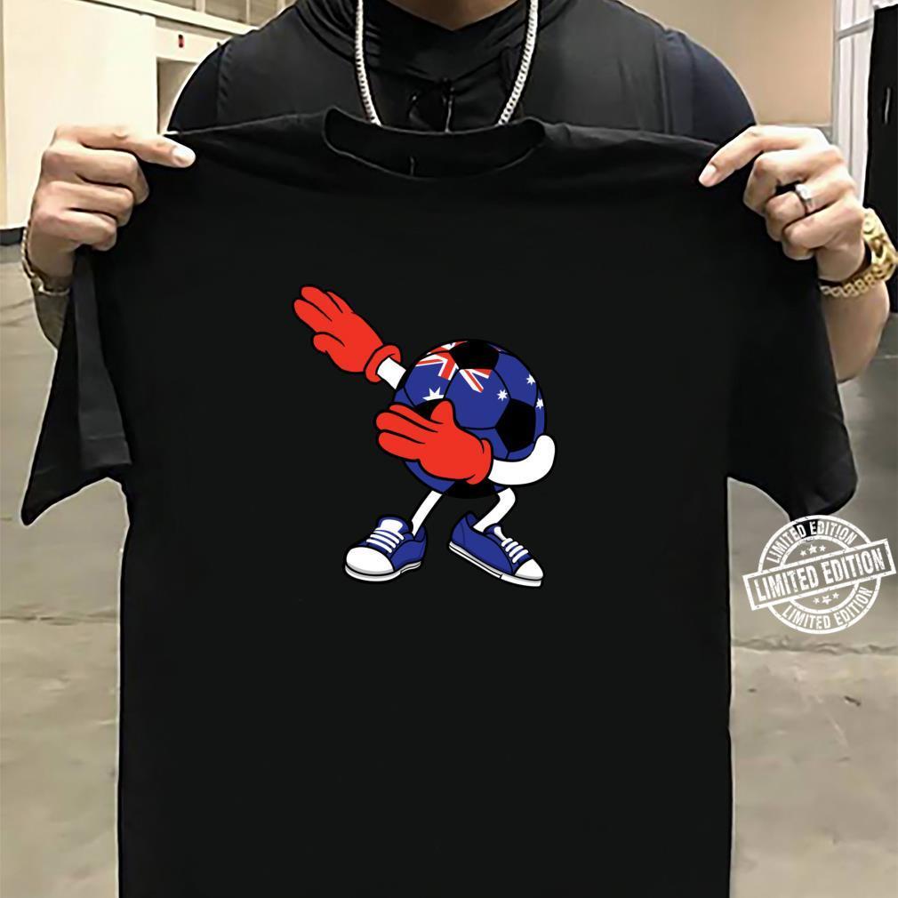 Dabbing Soccer Ball Australia Jersey Aussie Football Shirt sweater