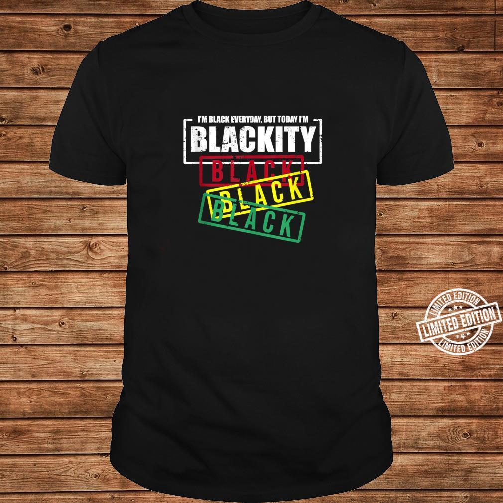 I'm Blackity Black African American Black Power Shirt long sleeved