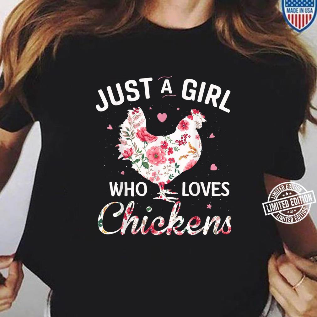 Loves Chickens Teeshirt